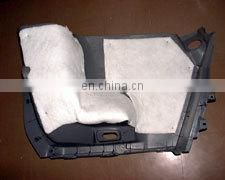 Melt-blown sound insulation pad used in car