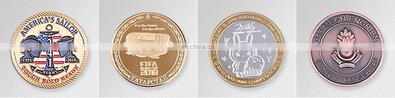 Custom gold coins Promotional beautiful design 3d bale egle america flag army coin