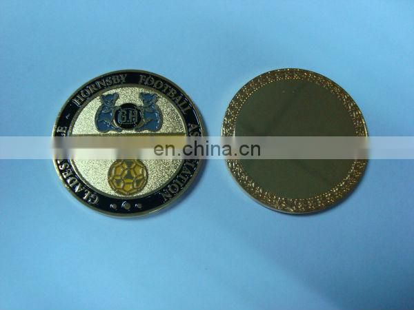 Australian gladesville hornsby football association challenge coin