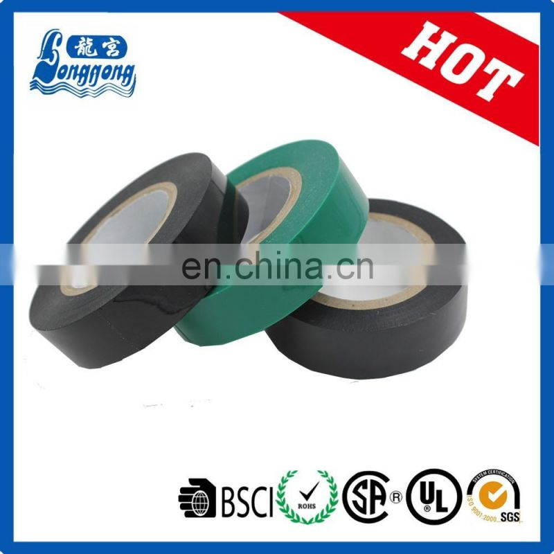 2017 new products hebei factory for pvc electrical tape FR PVC insulation tape