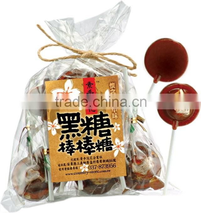 Small Hard Candy Taiwanese Candy Brown Sugar with Plum Candy