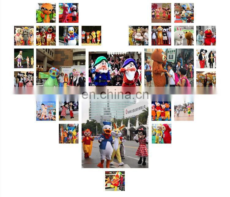Factory direct sale customized bulls mascot costume for adults