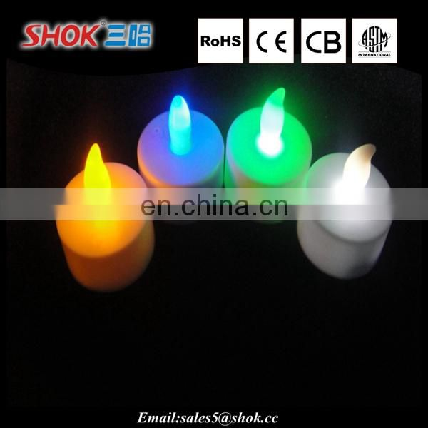 hot sale rechargeable electric tea light led candle wholesale