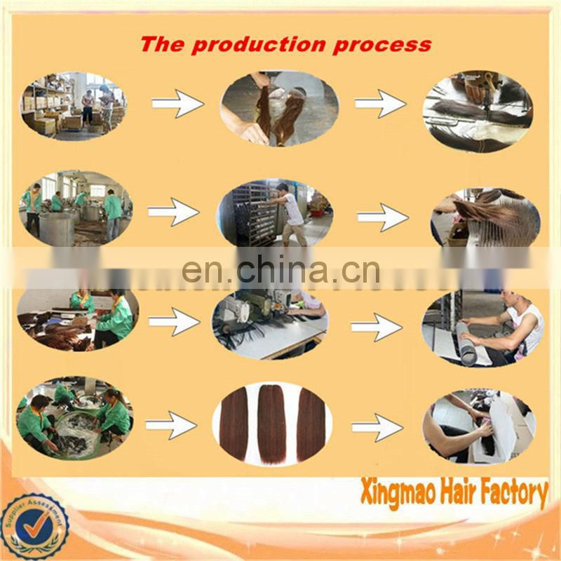 Fast delivery factory wholesale raw filipino hair