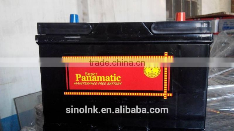 jiangmen lead-acid battery 12V 55AH 10PLATES starting maintenance free lead acid battery for locomotive. MFDIN55TH