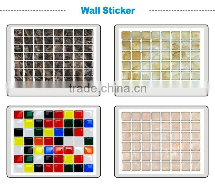 wholesale dropship decal for kid room decorative vinyl 3d tile import removable pvc bathroom waterproof kid bedroom wall sticker