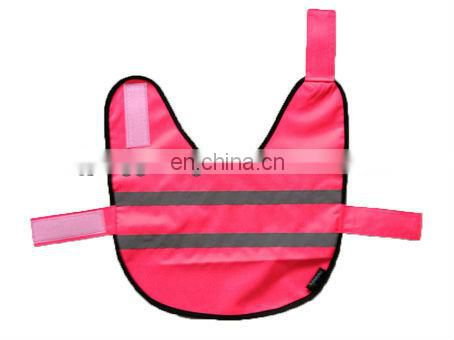 Dog clothes with high visibility tape and popular style