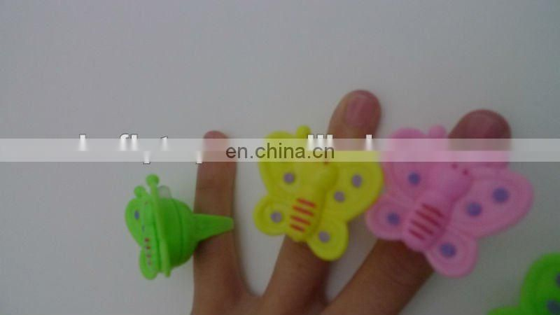 finger ring led toy