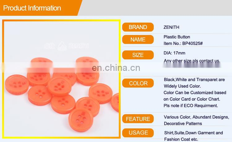 Polyester Button for Shirt BP40525