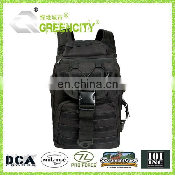 Black Tactical Pack Backpack Rucksack Assault MOLLE Survival Bug Out Bag