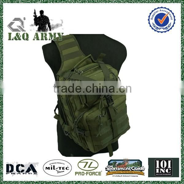 Military Style Molle Outdoor Tactical Sling Bag Messenger Bag
