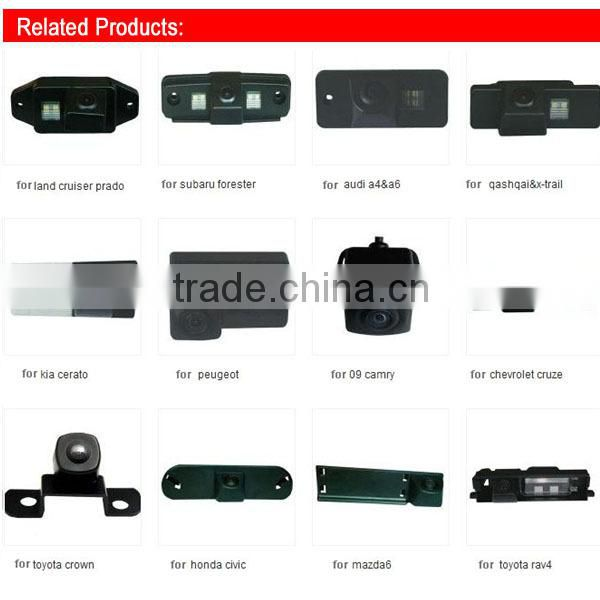 rearview special car camera for VW SANTANA&TOUAREG