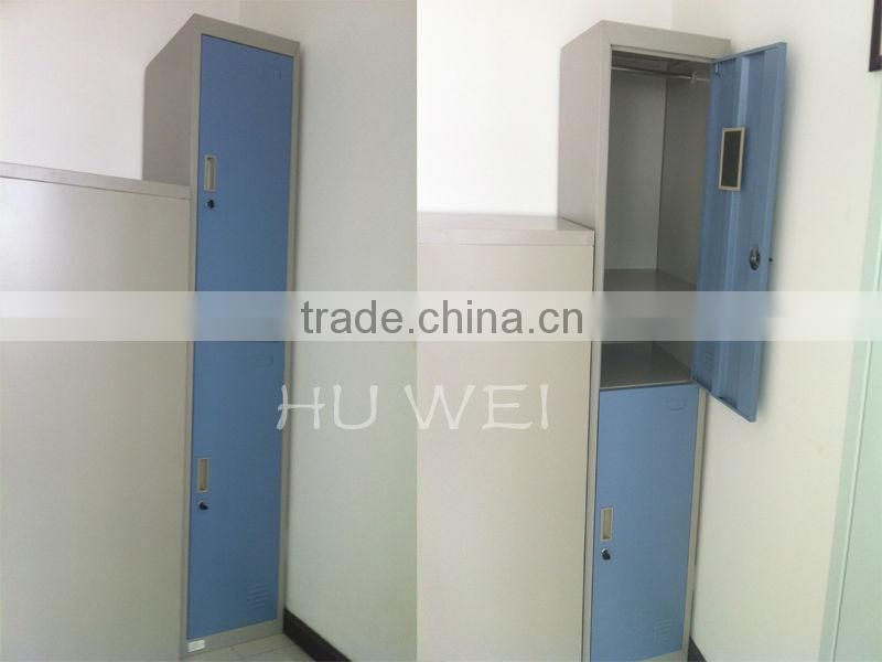 2014 metal furniture 2 door steel cabinet lock