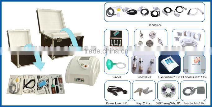 Portable 11in1 multifunctional salon beauty equipment