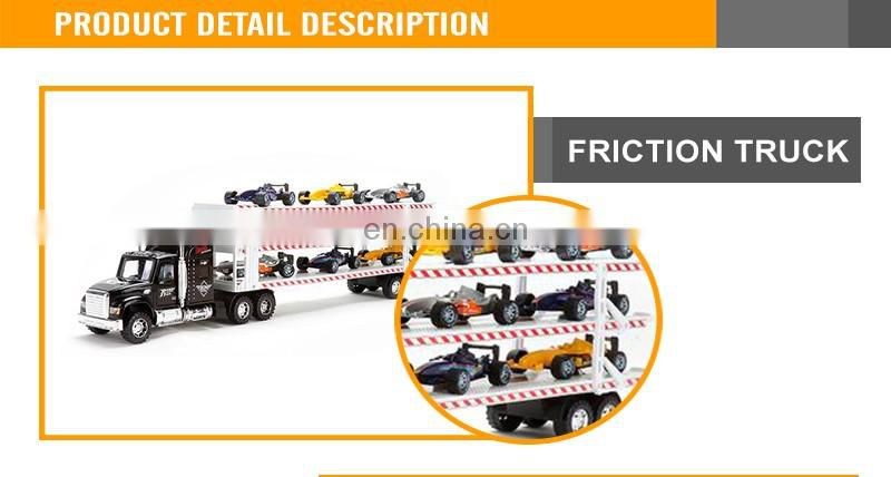Hot Sales Truck Model Toys Kids Plastic Friction Cars