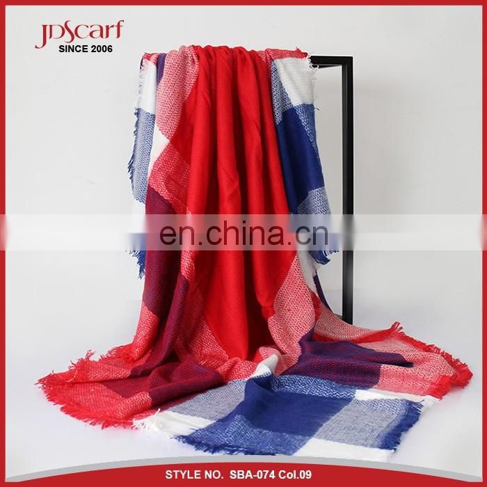 130*130cm newest design winter scarf for ladies winter shawl