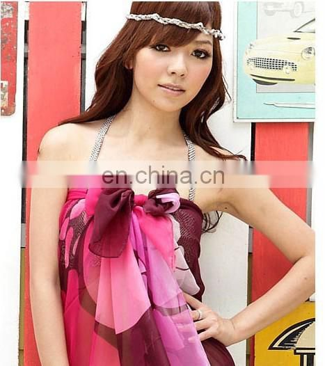 2016 New and hot sale swimwear beachdress sarong pareo .