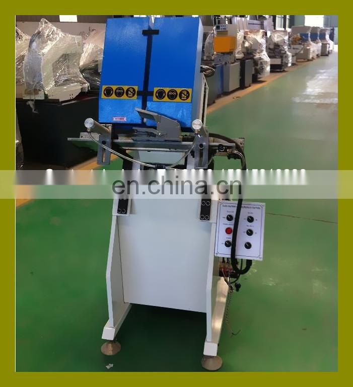 New type three axis PVC UPVC Plastic window automatic water slot mill machinery
