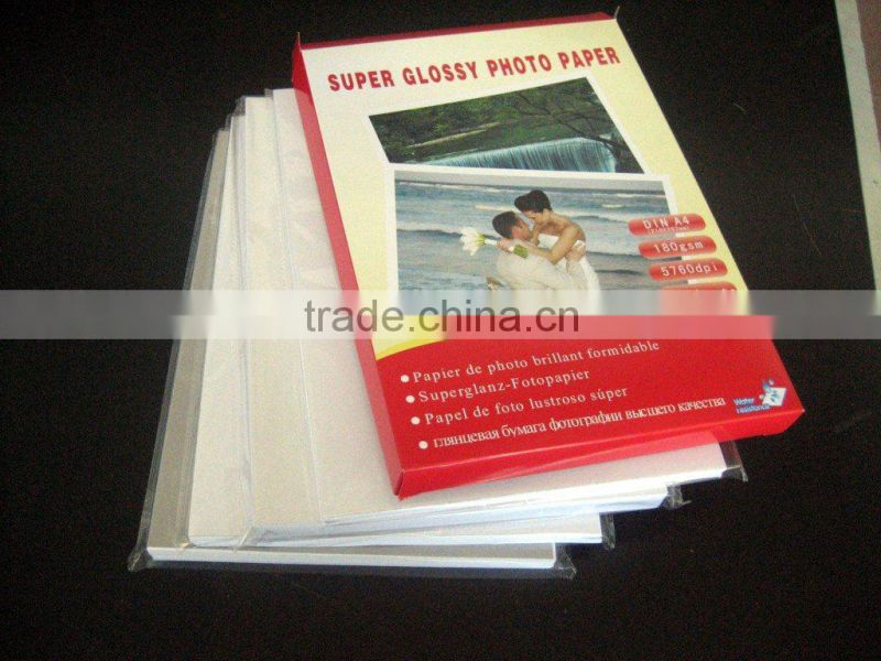 180g Glossy Micro-Porous RC Photo Paper Resin Coated (RC-JG180)