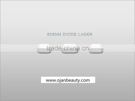808nm diode laser / diode laser hair removal / permanent hair removal