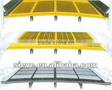 polyurethane screeen plate for construction industry