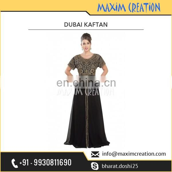 Highly Preferable Stylish Aesthetic Dubai Kaftan Dress Made from Quality Material