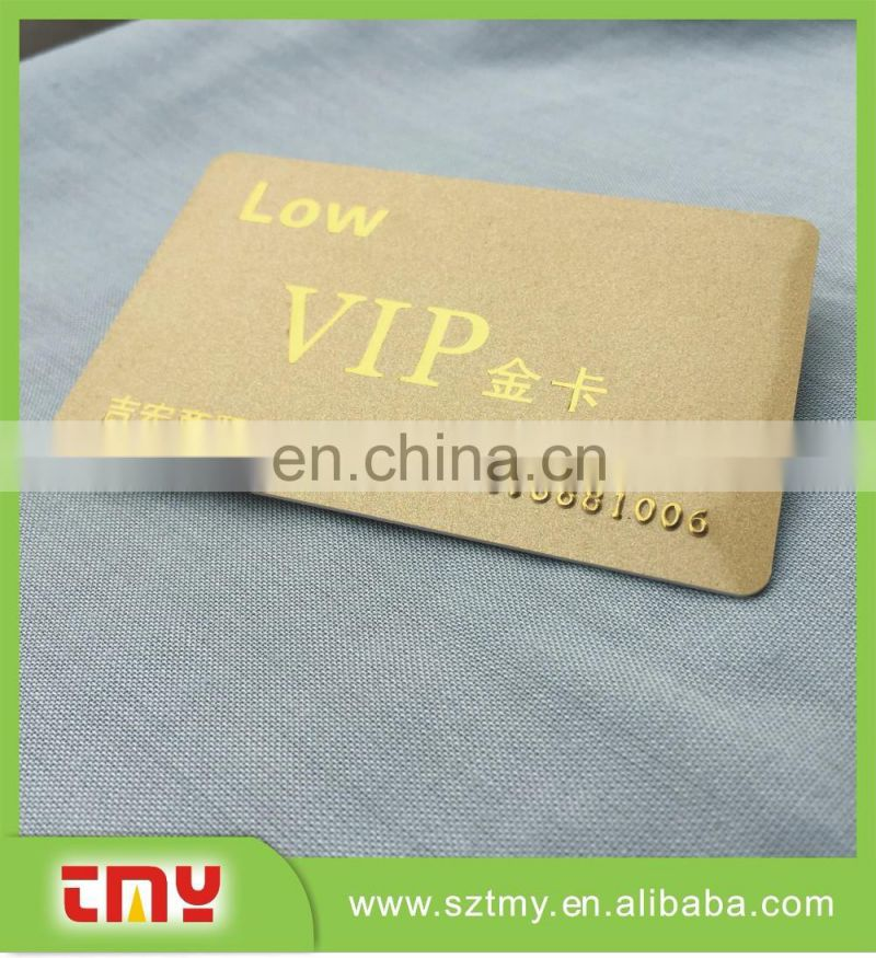 0.76mm thickness high quality plastic card with magnetic strip from China manufacturer