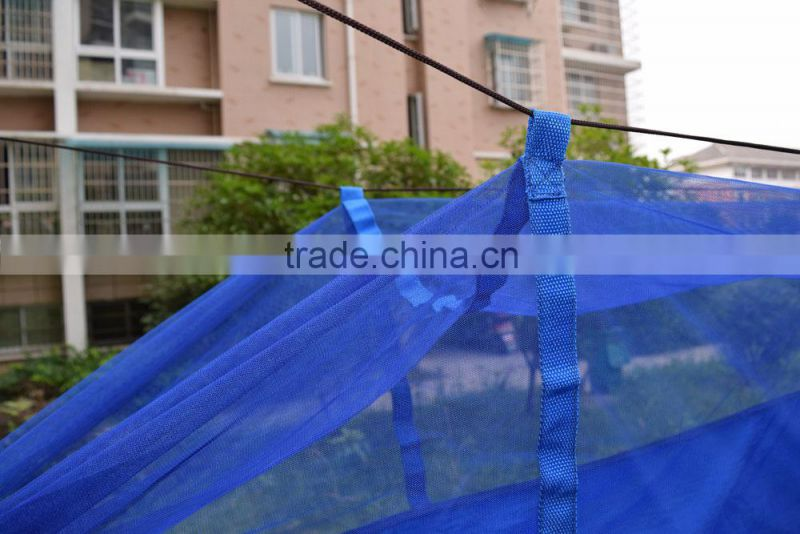 outdoor heavy duty nylon mesh parachute Maine Moskito netting Hammock