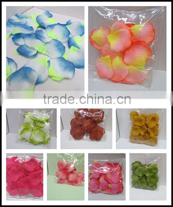 wholesale artificial silk wedding rose petals (AM-F-82)