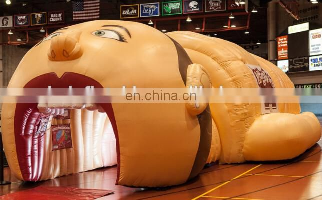 Inflatable Football Helmet Tunnel of Infltable-lawn-tent
