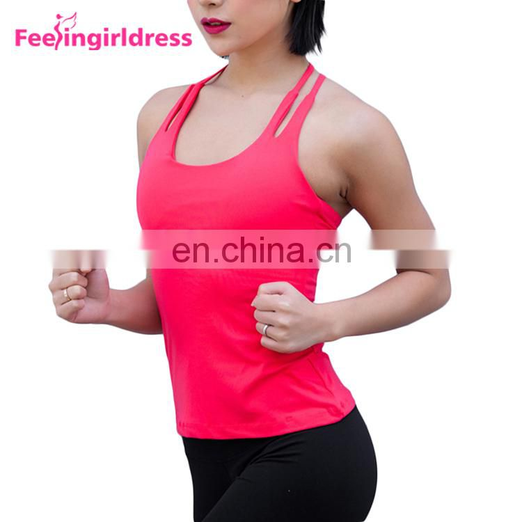 Fashion New Design Red Gay Vest Indian Yoga Clothing Manufacturers