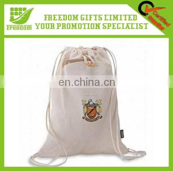 Promotional Logo Printed Customized Drawstring Bag