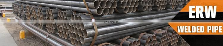 ASTM A572 GR.50 Q345B ERW black carbon welded steel pipe/tube