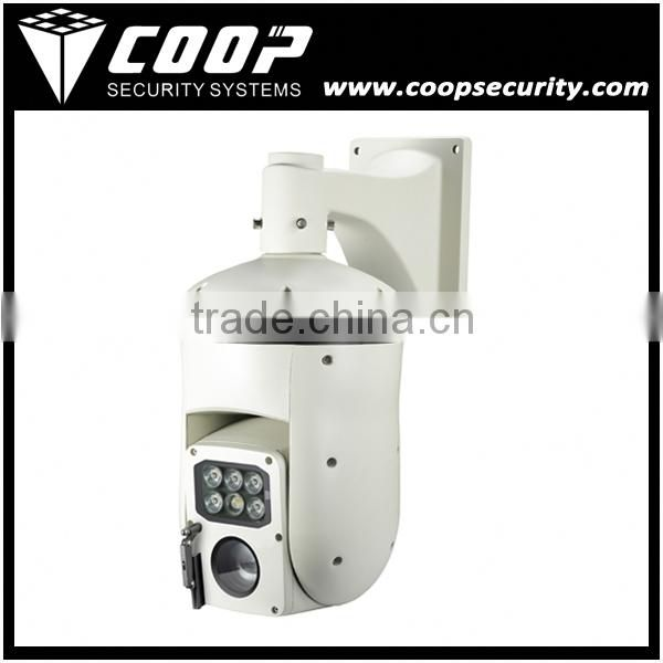 RS485 Laser Thermal PTZ Camera 26X Zoom Sony CCD Outdoor 530TVL Infrared High Speed PTZ Dome Camera