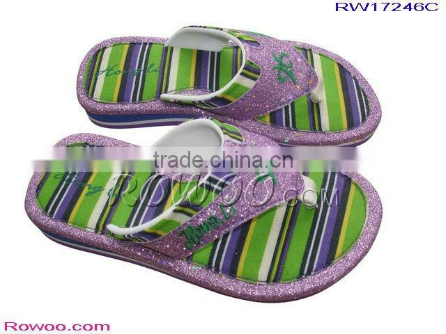All kinds of Girls Glitter Slipper