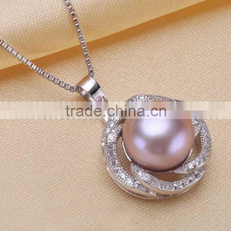 Fashion Pearl Pendant Gold Jewellery Set Fashion Jewelry Set