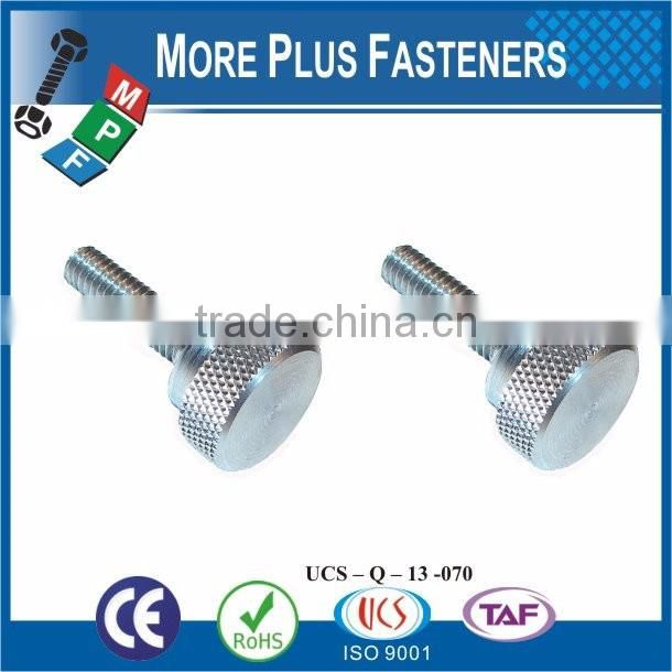 Made in Taiwan stainless steel sheet metal stainless thumb screws m2 thumb screw