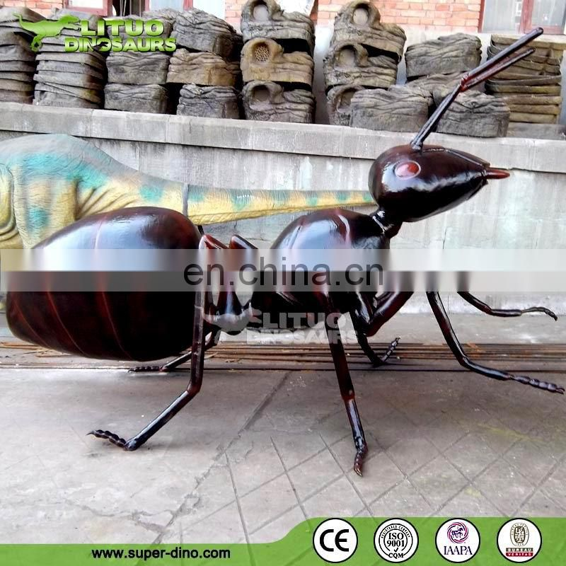 New Animatronic Insect Model for Museum Insect Simulation