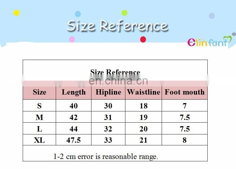 Elinfant baby products beauty colorful baby clothing PP Pants