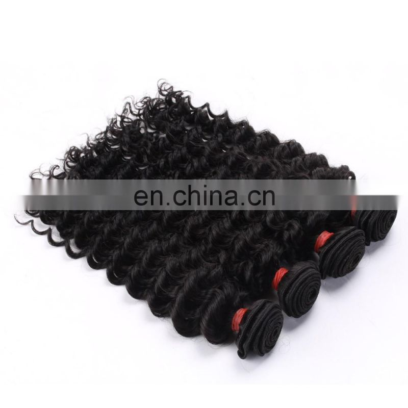 Deep Curl Natural Color Best Selling Good Feedback Virgin Human Hair Bundles peruvian hair weave