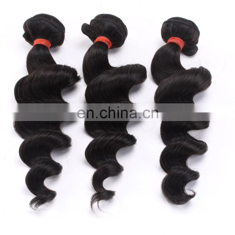 Wholesale human hair body wave hair extension