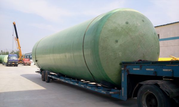 Fiberglass Pressure Tank Hotel Waste Treatment Image