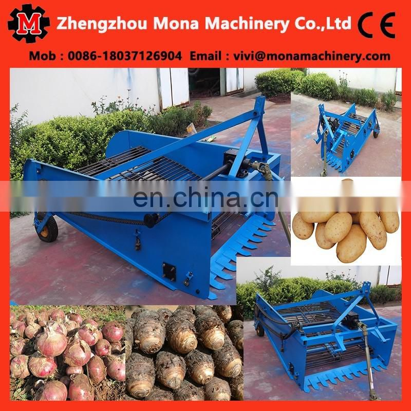 tractor mounted sweet potato harvester Small one row mini harvester potato