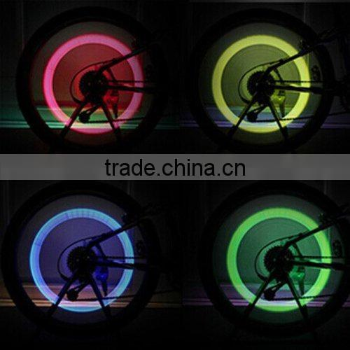 5 Pack of Led Flash Tyre Wheel Valve Cap Light For Car Bike Bicycle Motorbicycle Wheel Light Tire