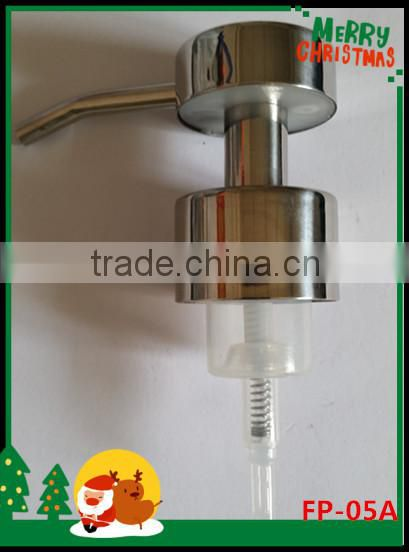 Best Selling 304 Stainless Steel Liquid Soap Dispenser with Foam Pump