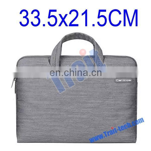 POFOKO 33.5x 21.5 CM Portable Laptop Bag, Case for Macbook Air