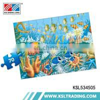 OEM 500pcs hot selling bug and insect diy 48piece children jigsaw puzzle