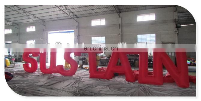 Advertising inflatables,new giant decorative inflatable words letters use for outdoor