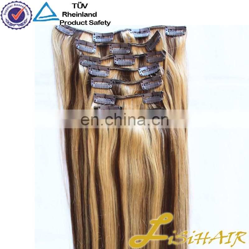 Good quality factory sale Wholesale extension clip capelli veri 220g