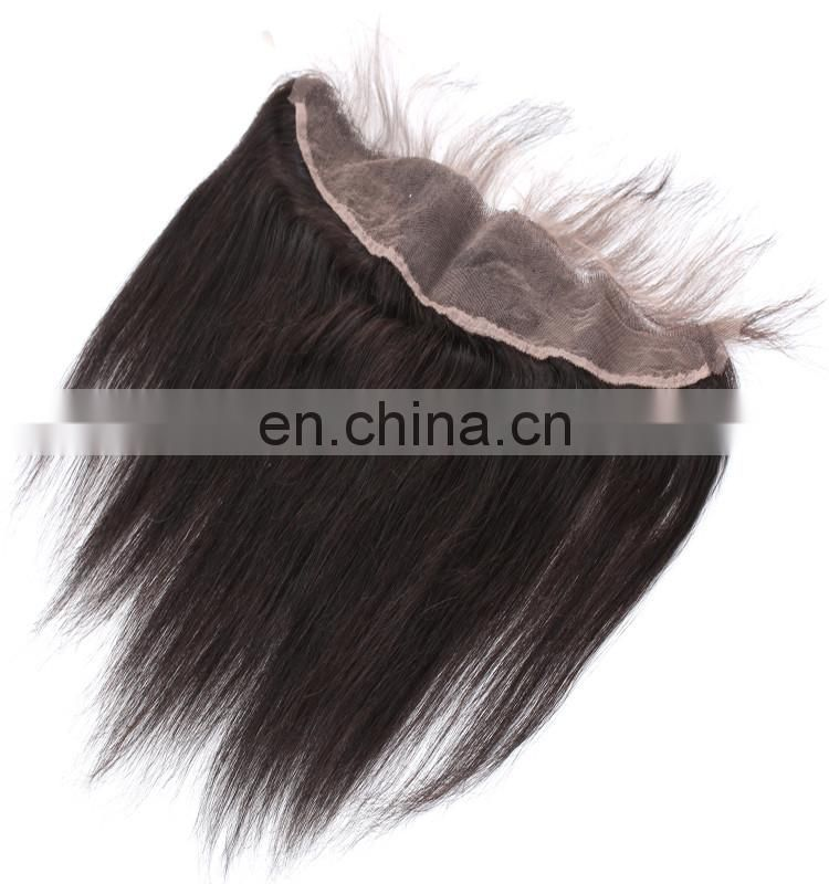 Wholesale unprocessed european hair blonde ear to ear13x4 lace frontal